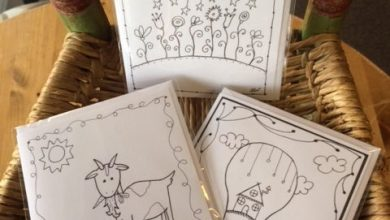 Stay Wild Moon Child: The Fanciful World of Jenna Webb Coloring Cards